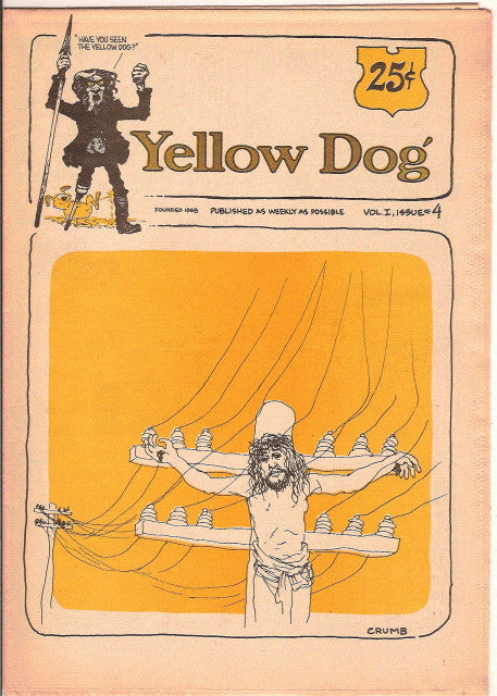 Yellow Dog #  4, 1st print