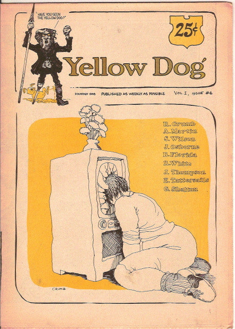 Yellow Dog #  6, 1st print