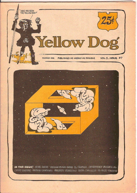 Yellow Dog #  7, 1st print