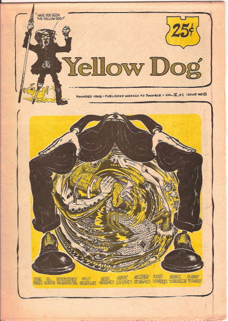Yellow Dog #  8, 1st print