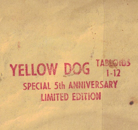Yellow  Dog 1 - 12 Special 5th Anniversary Lmt Ed