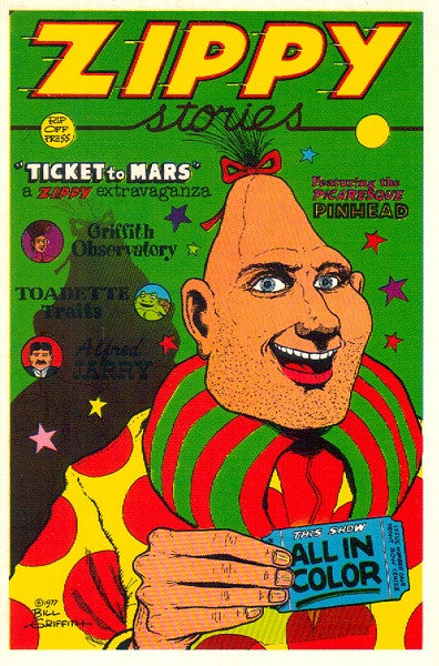 Zippy the Pinhead Postcard - Bill Griffith