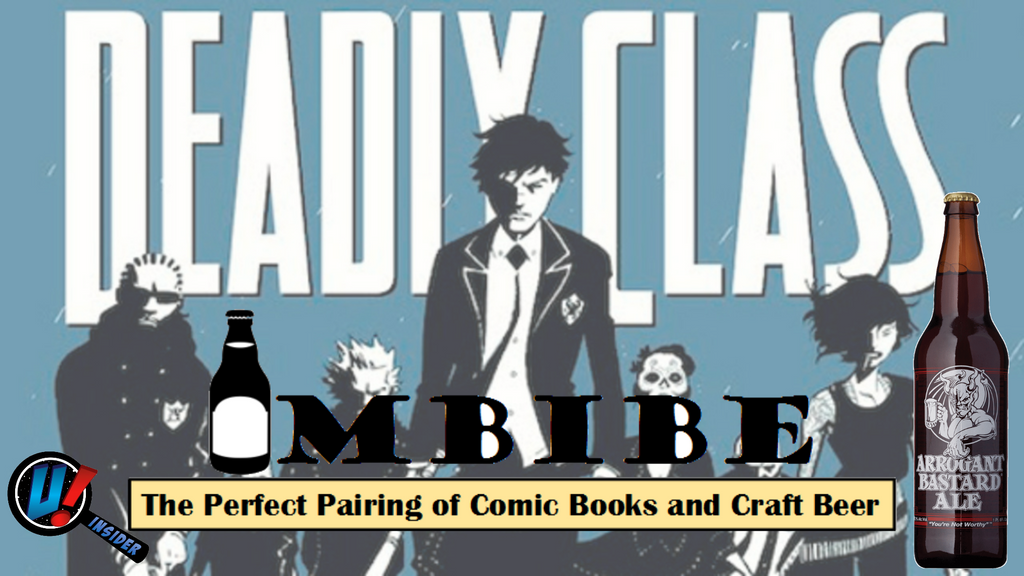 IMBIBE The Perfect Pairing of Comic Books & Craft Beer