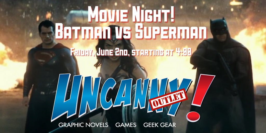 Uncanny! Outlet: Montgomery Mall Movie Night