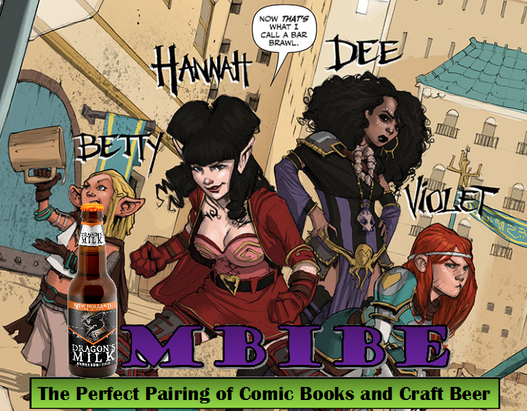 IMBIBE: Issue #11 Rat Queens Volume One with Dragon's Milk
