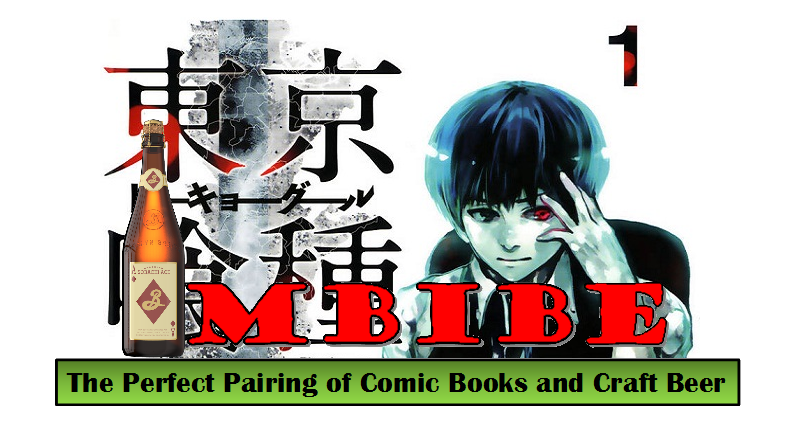 IMBIBE: Issue #7- Tokyo Ghoul Vol. 1 with Brooklyn Brewery's Sorachi Ace Saison