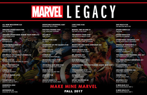 marvel legacy comics