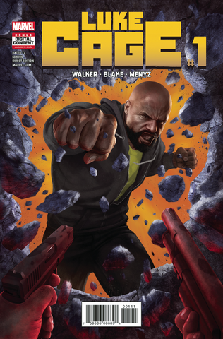 luke cage defenders comic marvel #1