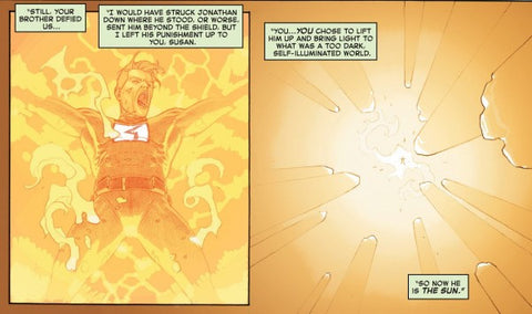 human torch sun marvel