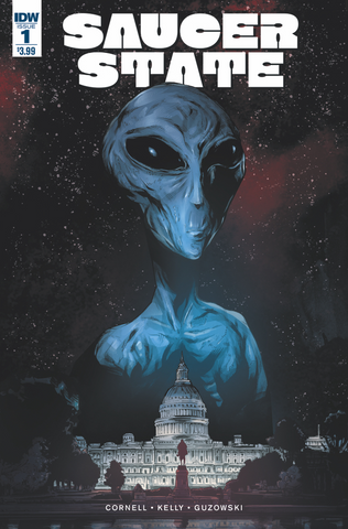 saucer state idw