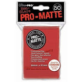 Red Ultra-Pro Standard Pro-Matte Sleeves, 50 count Uncanny!
