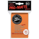 Orange Ultra-Pro Small Pro-Matte Sleeves, 60 count Uncanny!