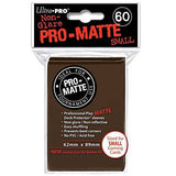 Brown Ultra-Pro Small Pro-Matte Sleeves, 60 count Uncanny!
