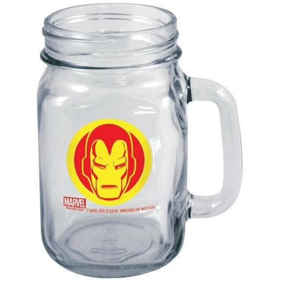 Iron Man Mason Jar Mug