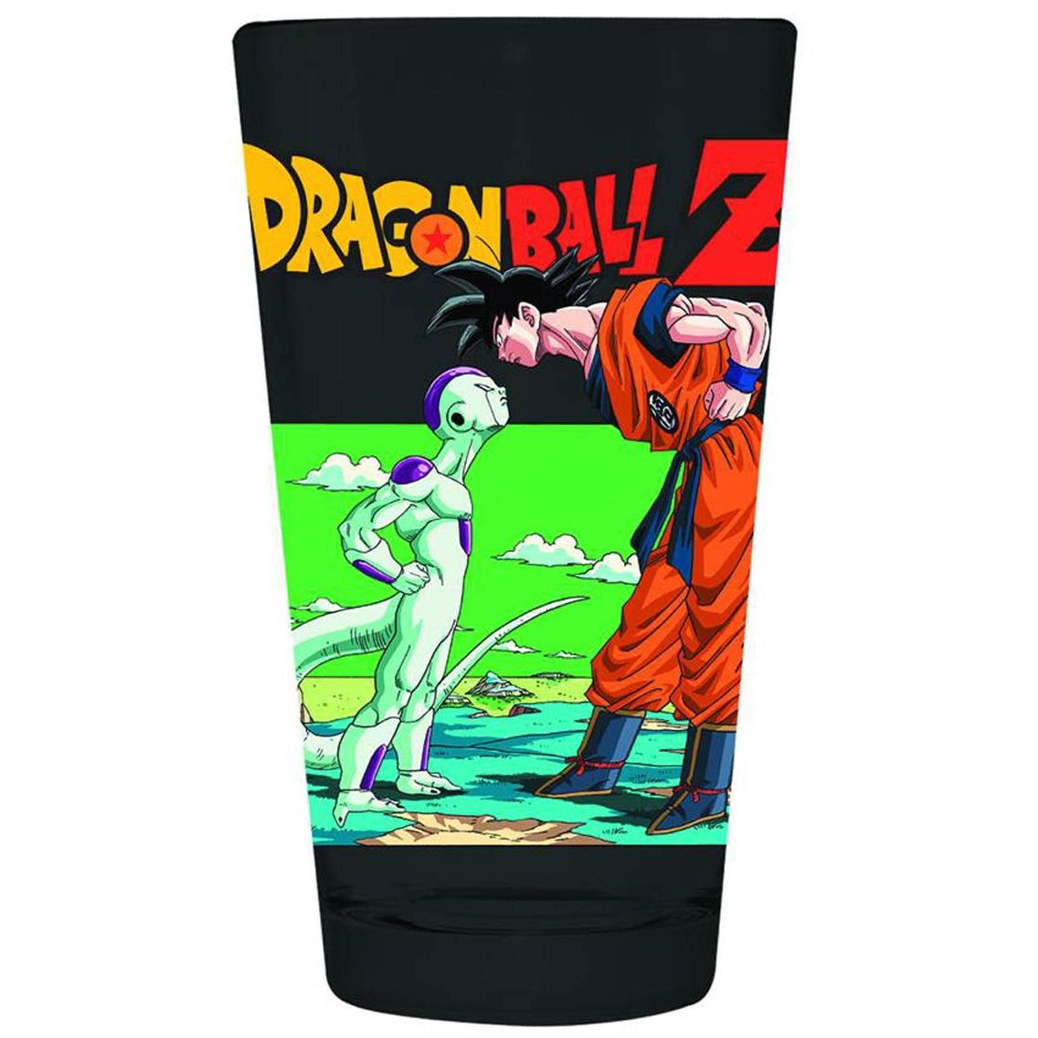Dragonball Z Frieza & Goku Pint Glass Uncanny!