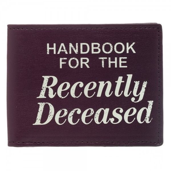 Beetlejuice Handbook for the Recently Deceased Bi-Fold Wallet