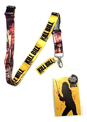 Kill Bill Fan Kit - Lanyard, Sticker, and Charm