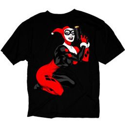 Harley Quinn Black Shirt