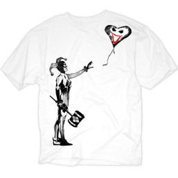 Harley Quinn Balloon White Shirt