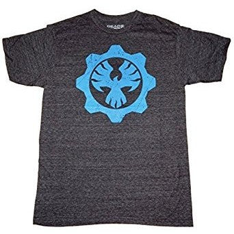 Gears of War 4 Fenix COG Mens Charcoal Tri-Blend T-shirt