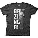 Big Bang Theory Bazinga Grey Shirt Uncanny!