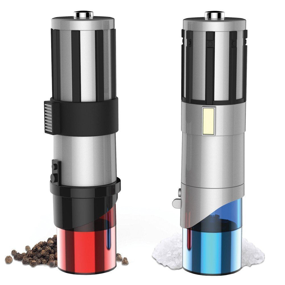 Lightsaber Salt And Pepper Grinders