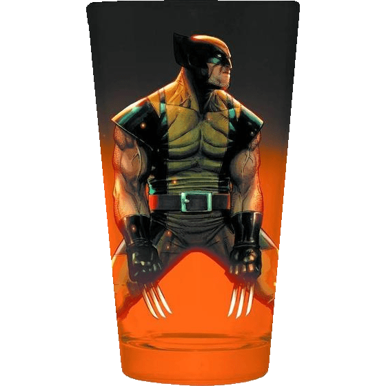 Wolverine Pint Glass