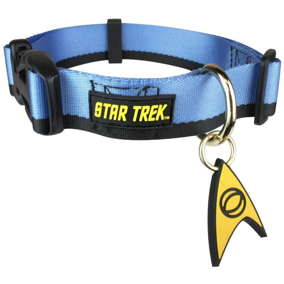 Dog Collar - Star Trek - Uniform Blue Uncanny!