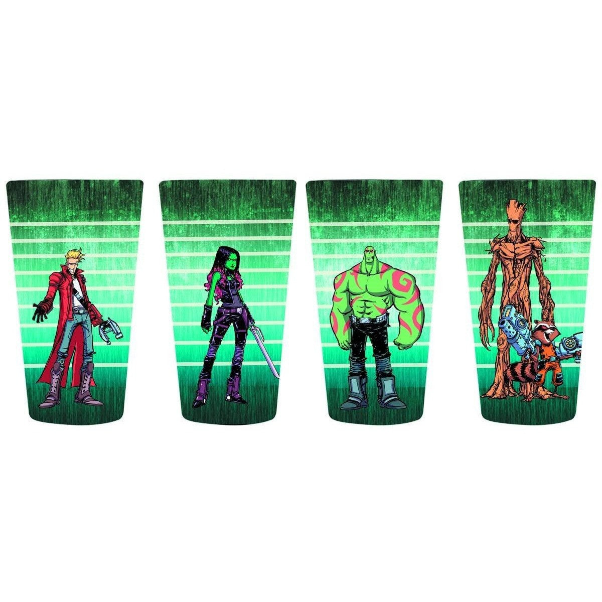 Guardians of the Galaxy Pint Glass Set
