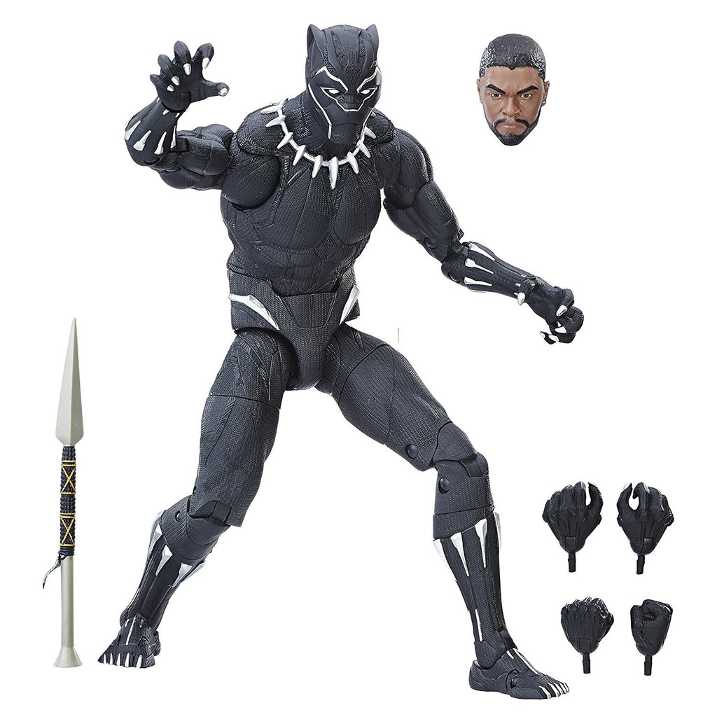 Marvel Black Panther Legends Series Black Panther, 12-inch