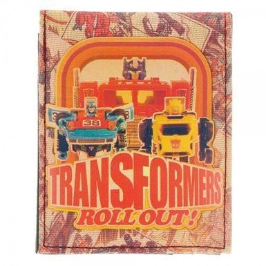 Transformers Sublimated Print Bi-Fold Wallet