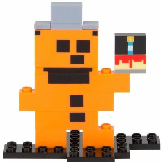 Five Nights At Freddy's Freddy 8-Bit Buildable Figure