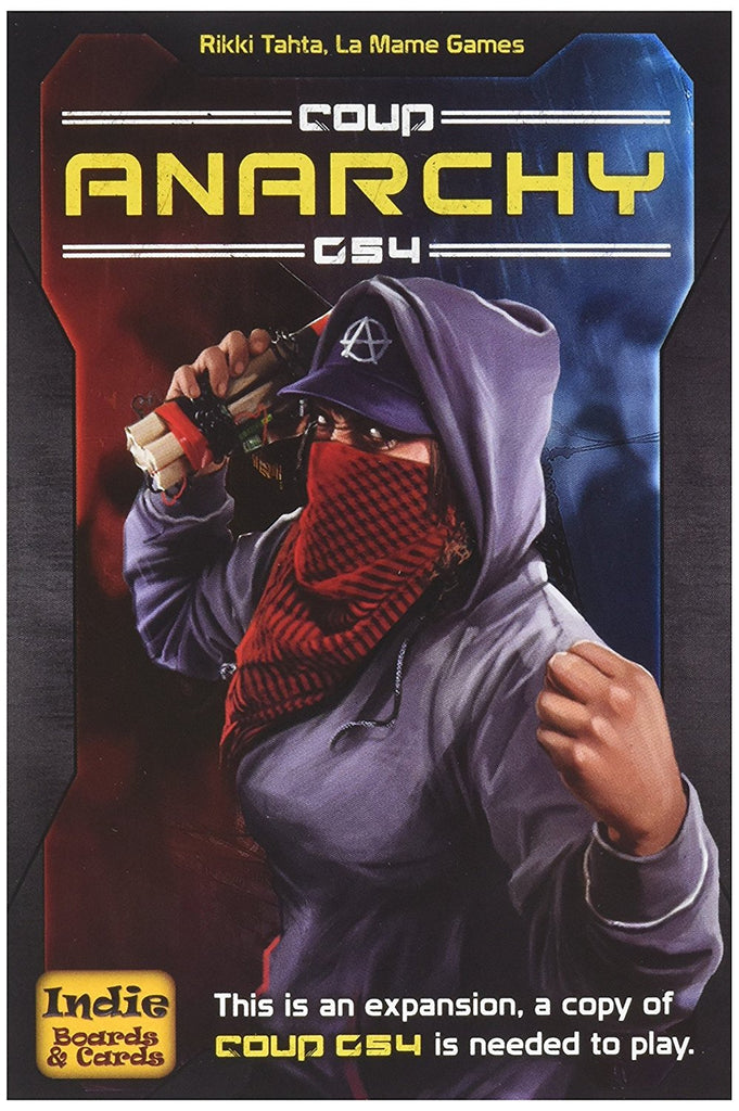 Coup Rebellion G54 Anarchy Game--EXPANSION PACK