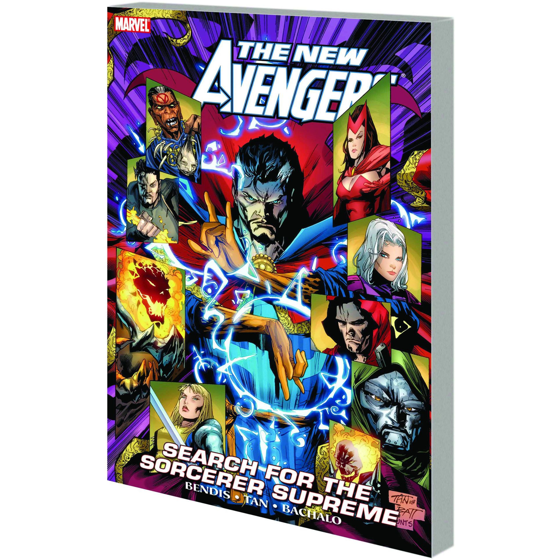 New Avengers TP Search For The Sorcerer Supreme Uncanny!