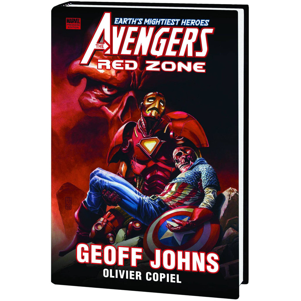 AVENGERS PREM HC RED ZONE