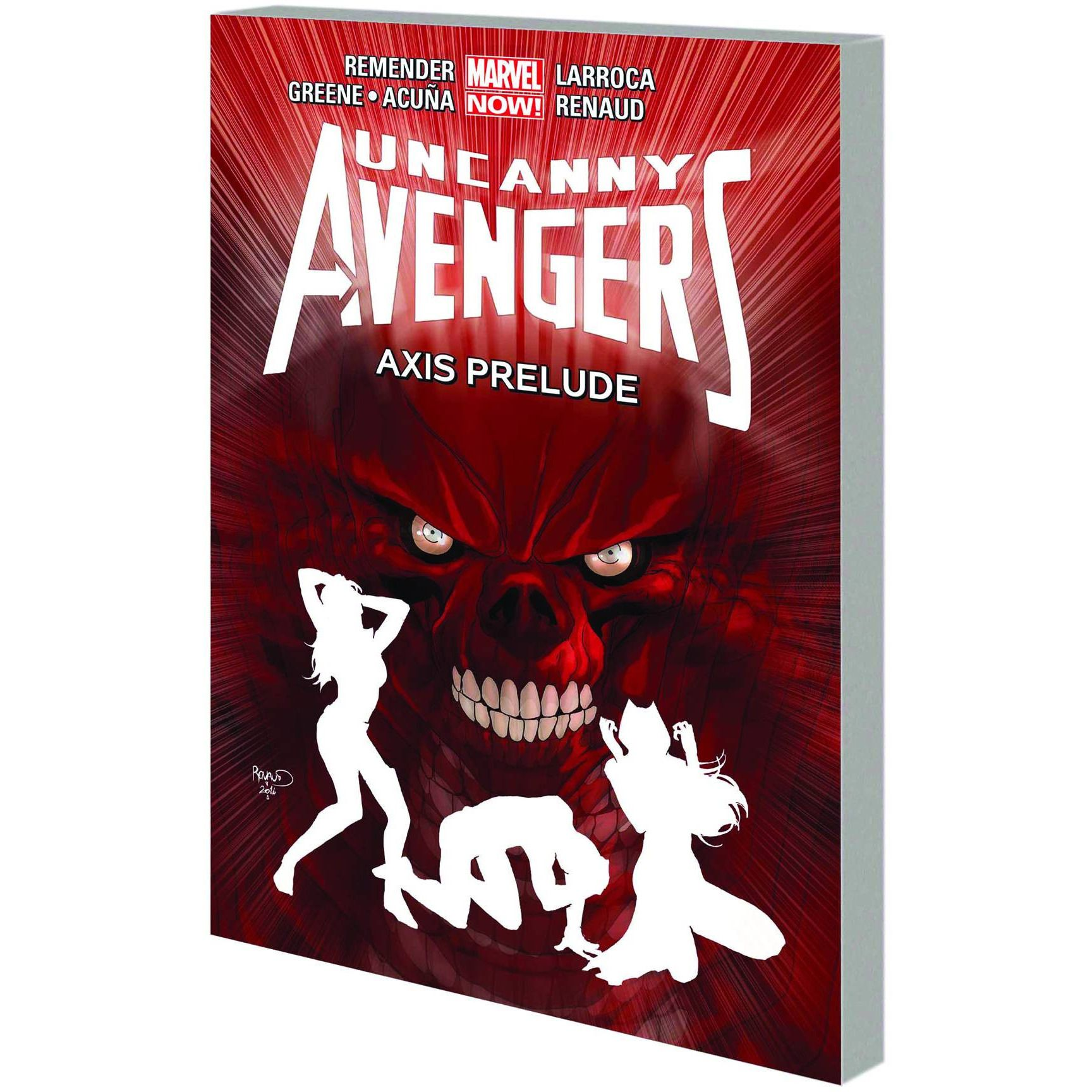 Uncanny Avengers TP VOL 05 AXIS Prelude Uncanny!