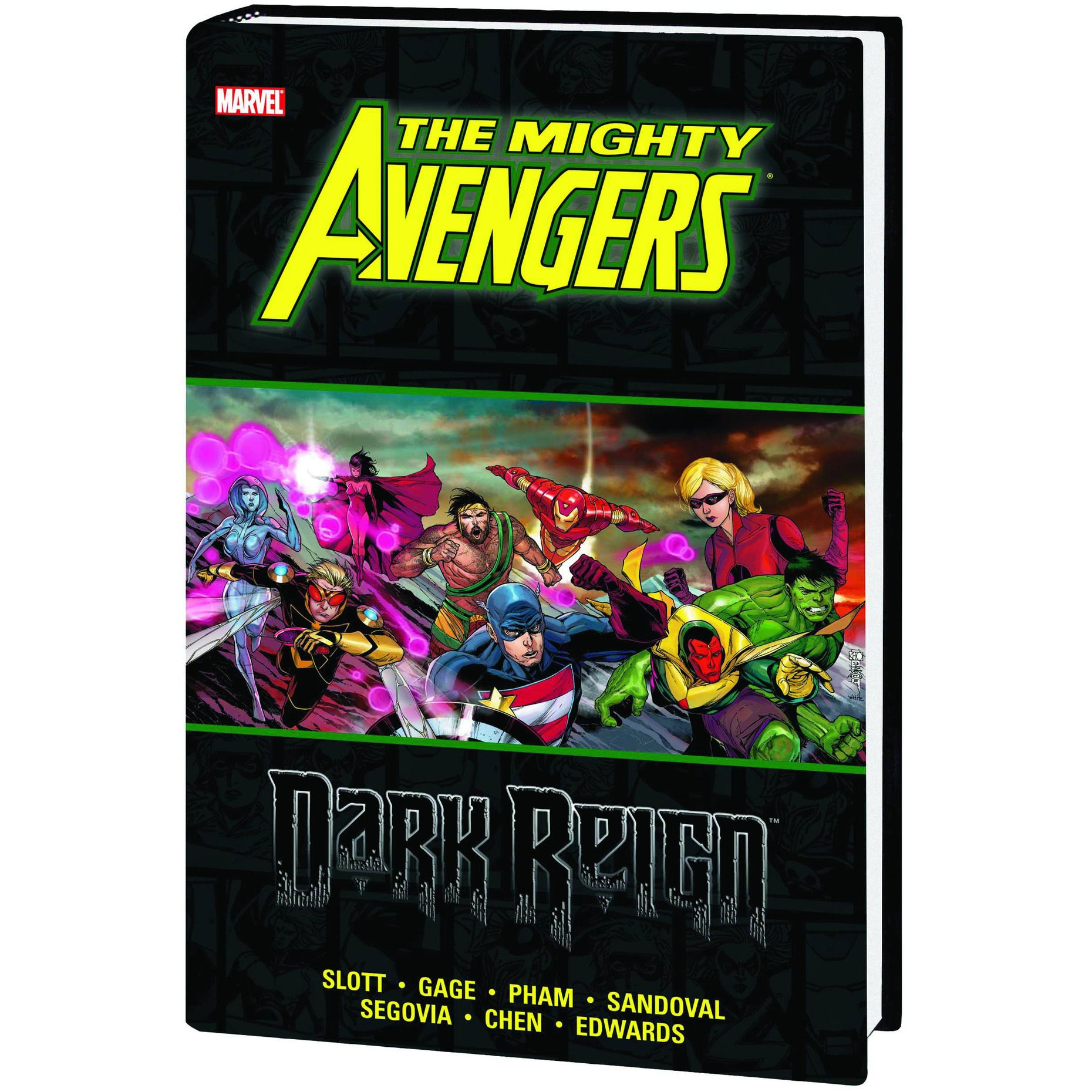 The Mighty Avengers: Dark Reign HC Uncanny!