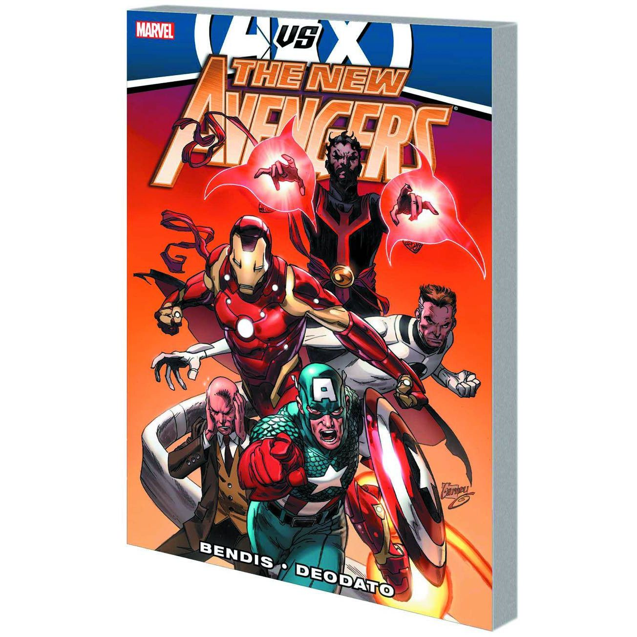 New Avengers BY Brian Michael Bendis TP Vol 4 AVX Uncanny!
