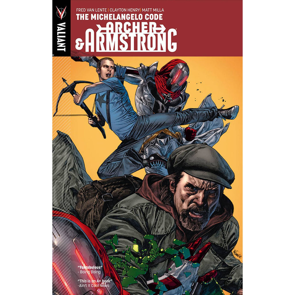 ARCHER & ARMSTRONG TP VOL 01 MICHELANGELO CODE