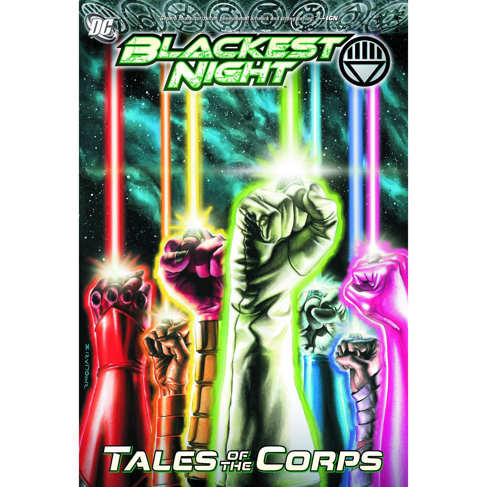 Blackest Night Tales Of The Corps TP Uncanny!