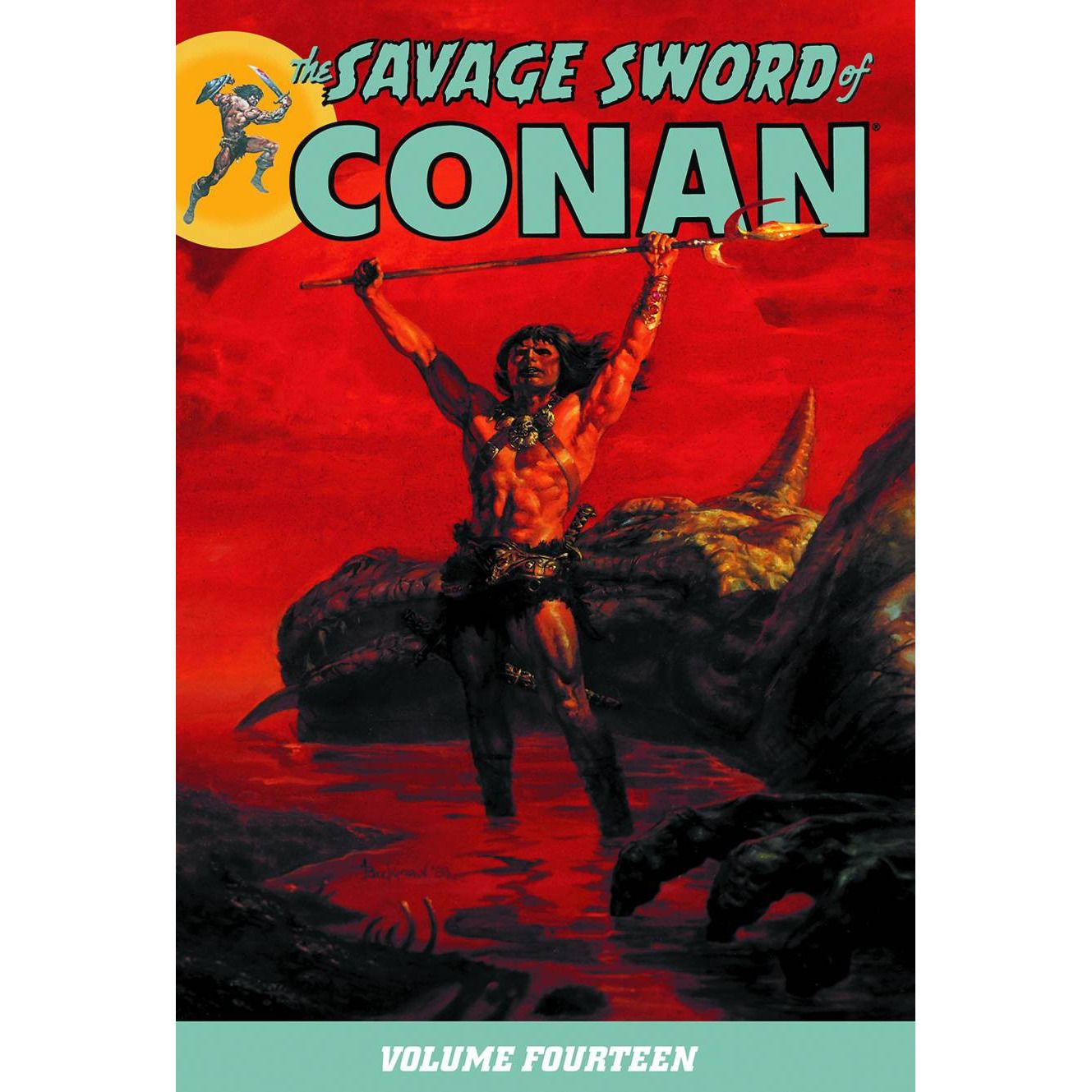 Savage Sword Of Conan TP Vol 14 Uncanny!