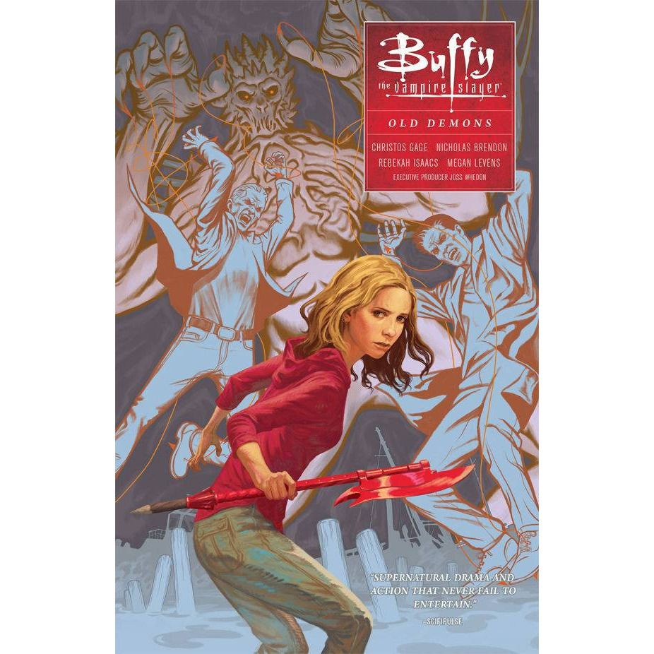 Buffy The Vampire Slayer Season 10 TP VOL 04 Old Demons