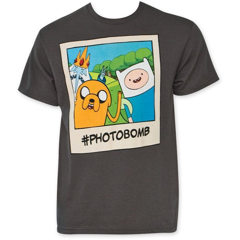 Adventure Time Photobomb Shirt Uncanny!