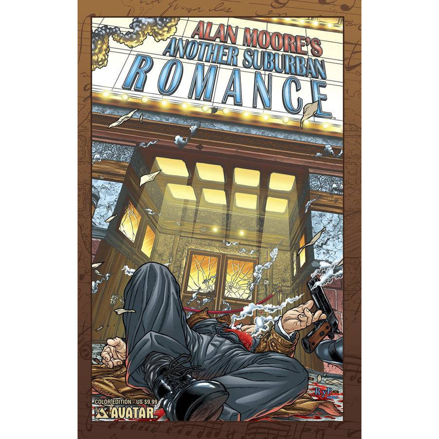 Alan Moore's Another Suburban Romance TP Uncanny!