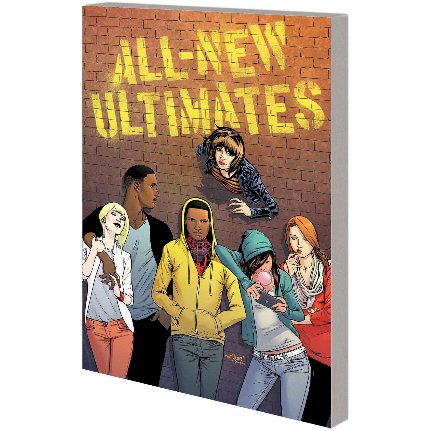 All-New Ultimates Power for Power Vol 1 TP Uncanny!