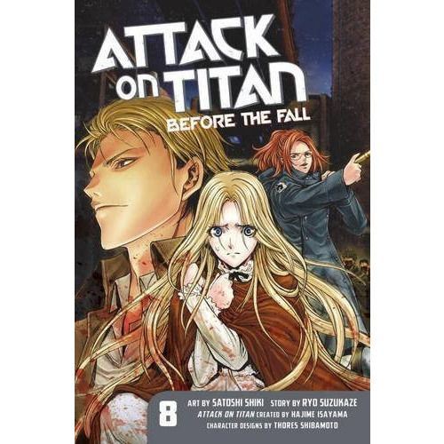 Attack on Titan Before the Fall Vol. 8 GN
