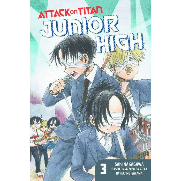 Attack on Titan Junior High Vol. 3 GN