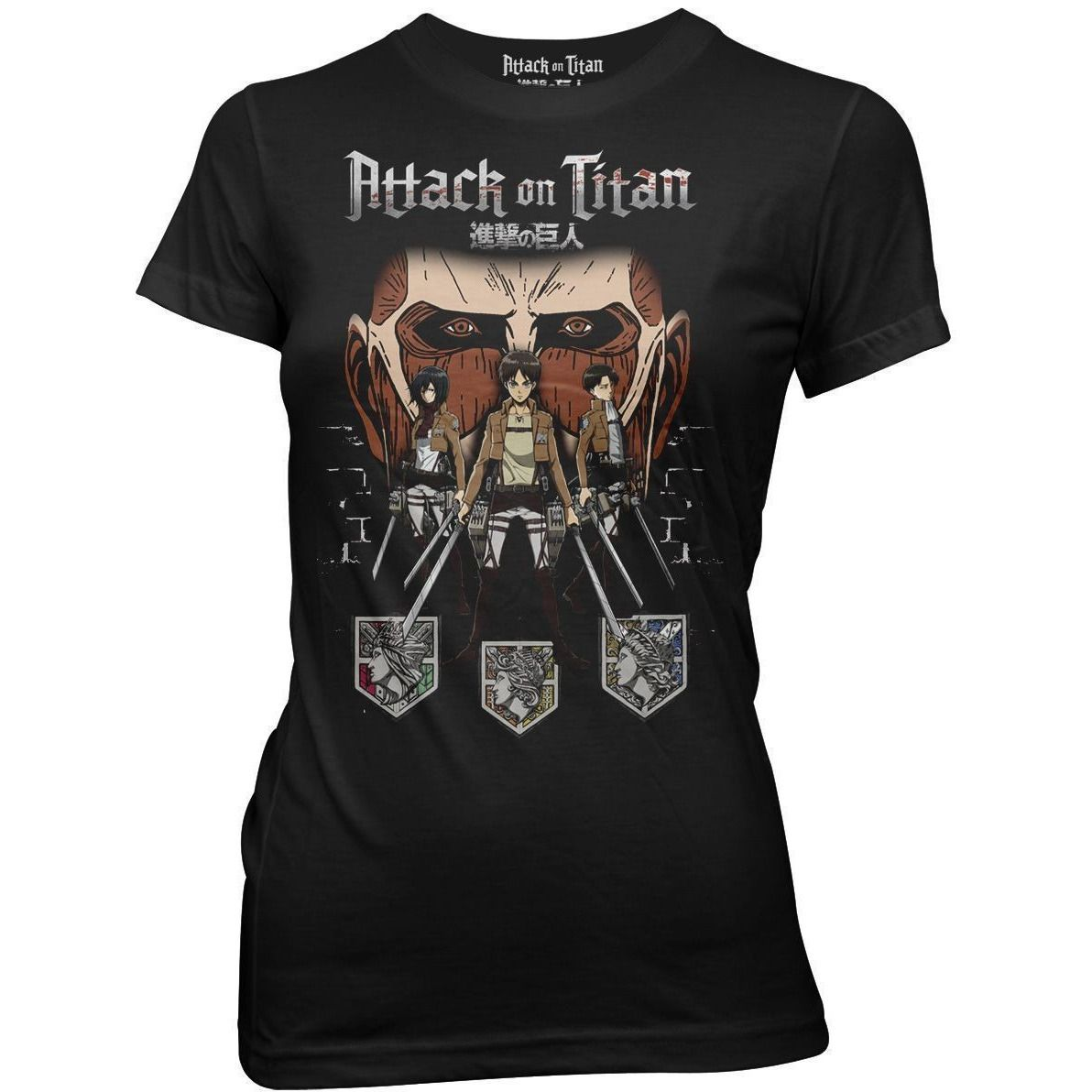 Attack on Titan in the Shadows Shirt Uncanny!