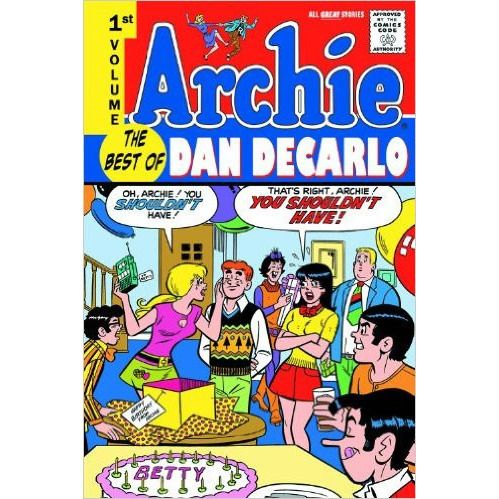 Archie the Best of Dan Decarlo TP Vol 1 Uncanny!