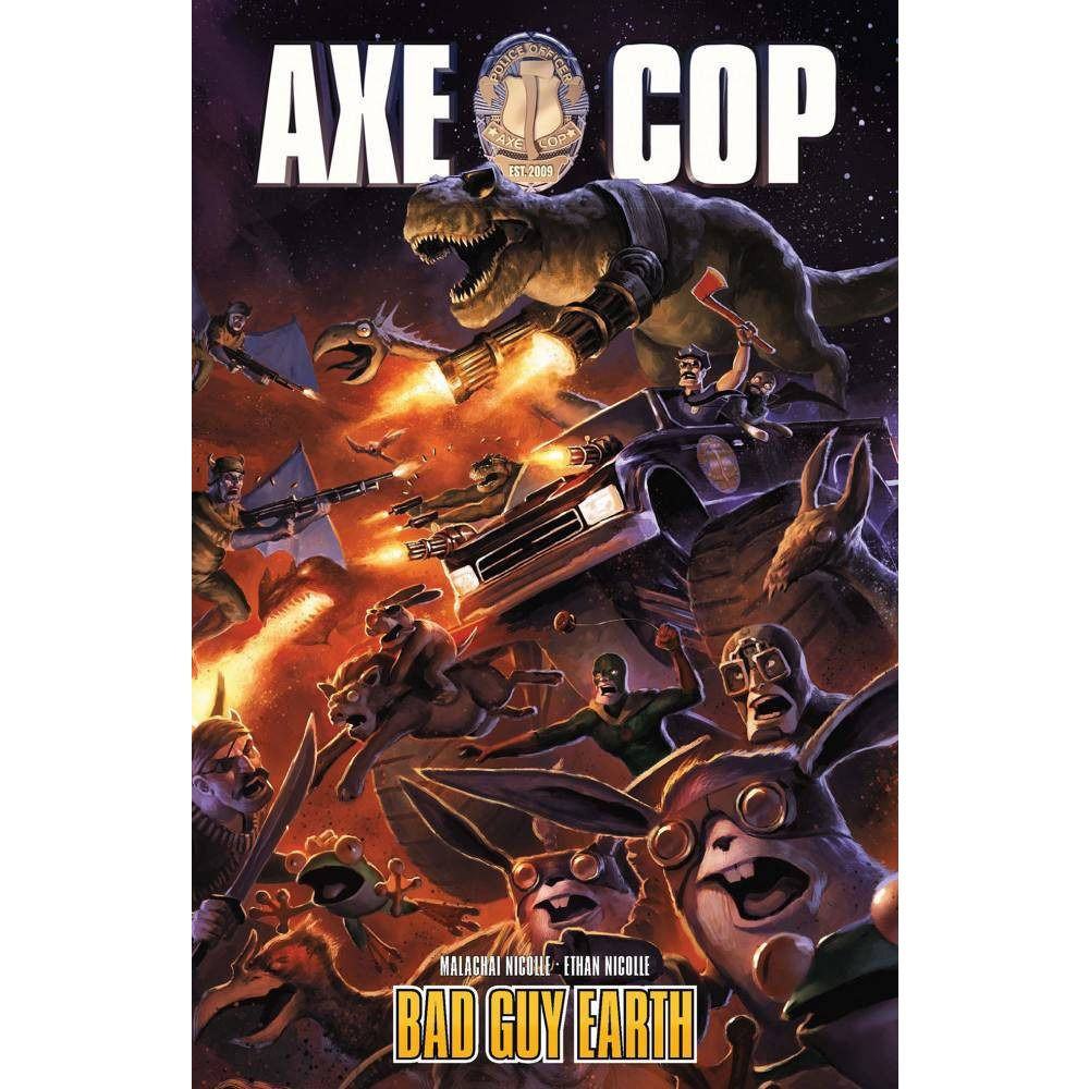 Axe Cop: Bad Guy Earth Vol. 2 TP